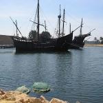 Carabelas en Puerto Palos de Moguer