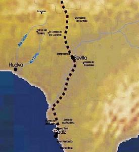 Ruta de la Plata en Andalucía